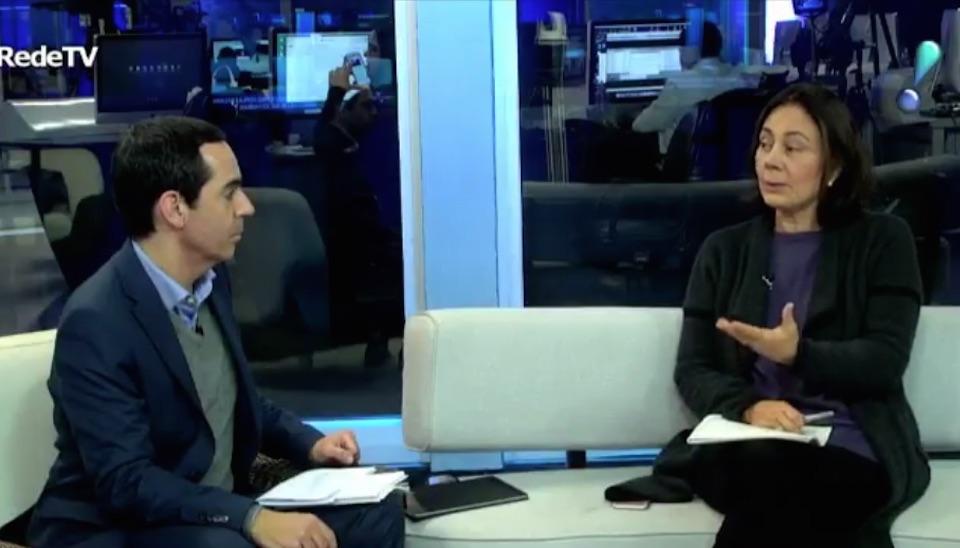 Em live com representantes dos partidos, Mauro Tagliaferri entrevista Andrea Gouvea Vieira, coordenadora geral da campanha de Marina Silva (Rede)