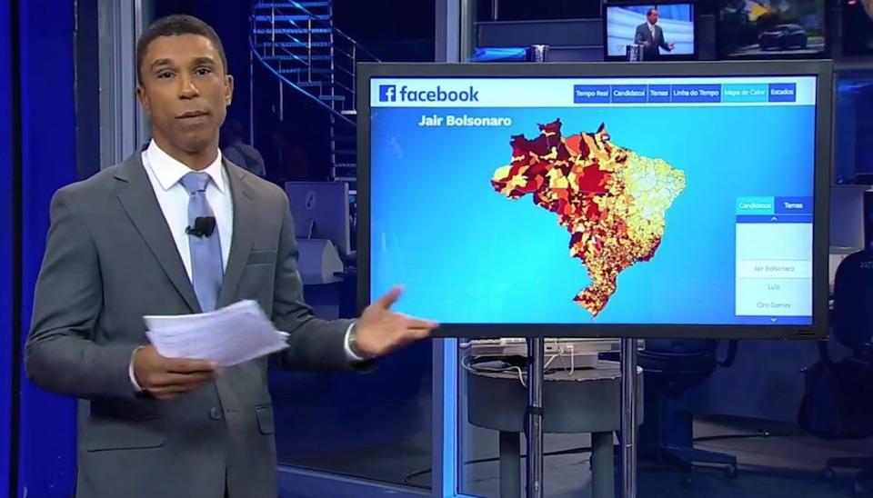 Rodrigo Cabral traz dados sobre citações de candidatos nas redes sociais antes de debate com candidatos à Presidência