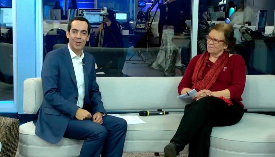 Ana Bock Representante e candidata a vice-governadora de Luiz Marinho (PT)