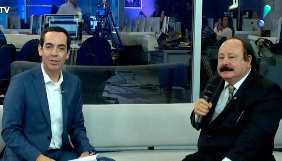 Levy Fidelix Representante de Rodrigo Tavares (PRTB) e Presidente nacional do partido