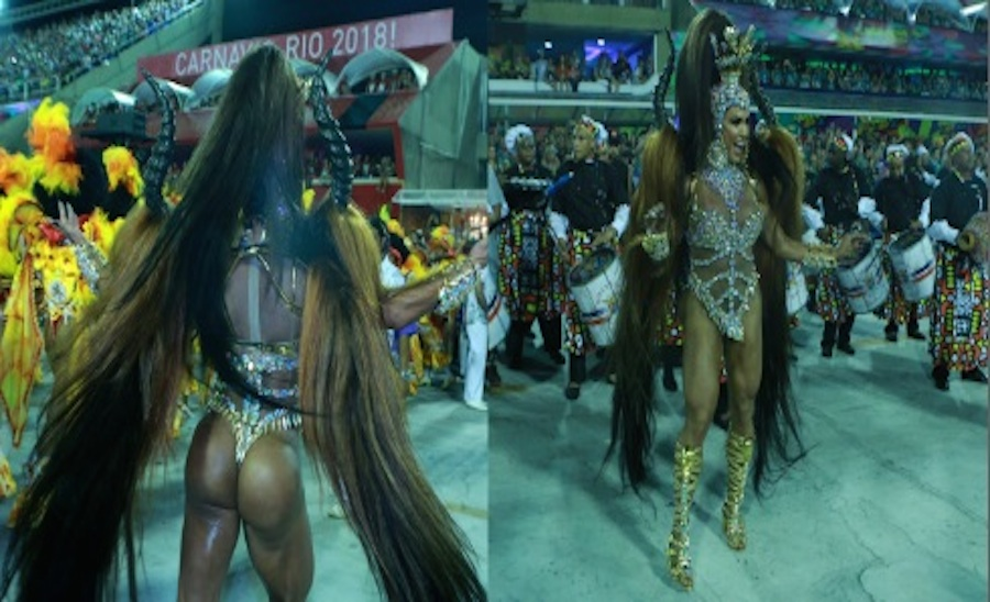Gracyanne Barbosa/União da Ilha