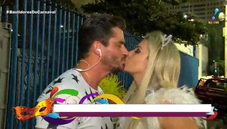 """""""Quem não quer um boy magia desse?"""", revelou Veridiana Freitas depois do beijaço em Marcos Harter"""