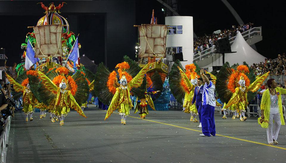Campeã de 2017, a agremiação da zona leste levou para a avenida um enredo sobre as belezas do Maranhão e, pelo segundo ano consecutivo, garantiu o título do Grupo Especial