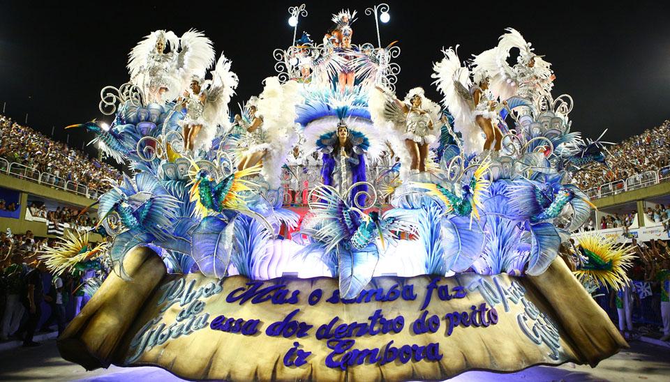 A Beija-Flor de Nilópolis foi eleita campeã do Carnaval 2018 do Rio de Janeiro nesta quarta-feira (14).