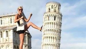 Turistas criam versões divertidas com Torre de Pisa e resultado vira sensação na web