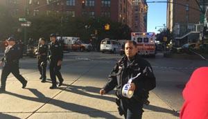 Veja fotos do atropelamento em massa em Nova York