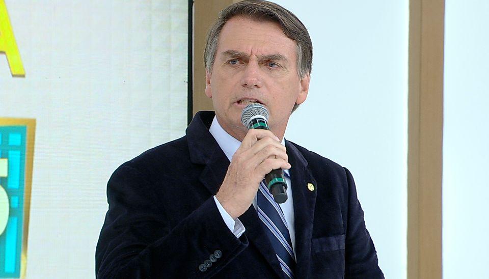 Resultado de imagem para Entrevista de Jair Bolsonaro - Rede TV