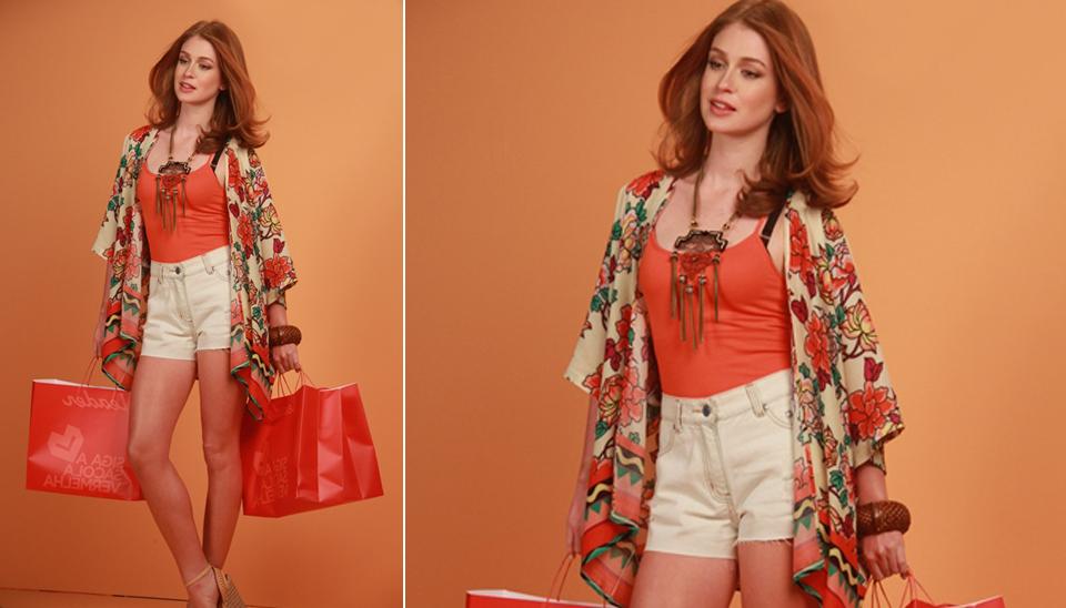 a361ec615 Marina Ruy Barbosa estrelou em uma campanha de moda primavera/verão