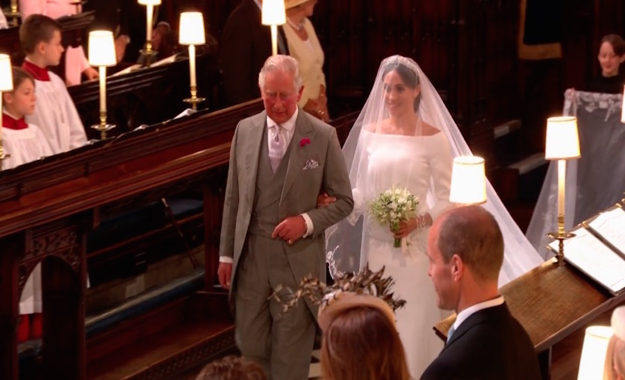 Noiva encontra Príncipe Charles