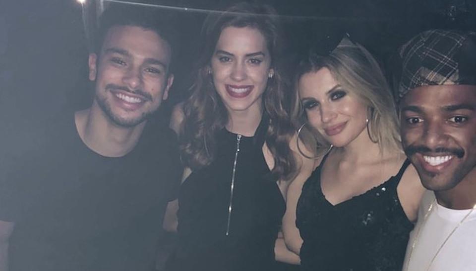 Sérgio Malheiros e Sophia Abrahão também estavam entre os convidados famosos da festa de Nego do Borel