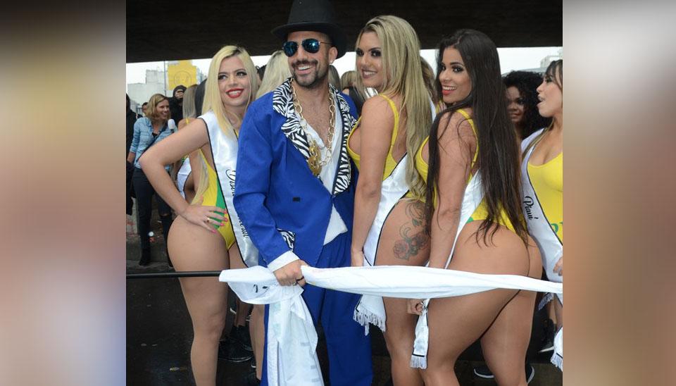 Para abrir o Miss Bumbum Brasil 2018, aconteceu, no início da tarde desta segunda-feira (6), a 8ª edição da Corrida na Paulista. O ex-brother Kaysar Dadour foi o mestre de cerimônia oficial