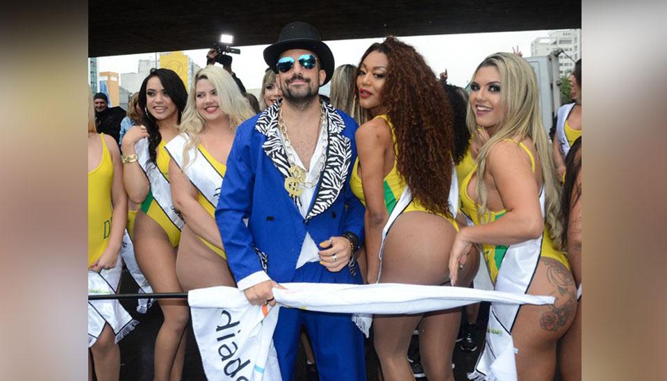 Vindo diretamente de Curitiba, Kaisar relatou em seu Instagram Stories que São Paulo, cidade que recebeu a abertura do Miss Bumbum 2018, amanheceu mais fria do que a capital paranaense. Mas o clima não desanimou as candidatas