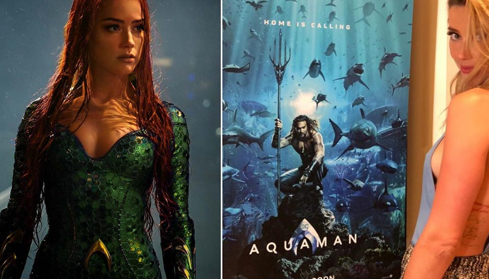 Quem viu trailer de Aquaman, que estreia na próxima semana, com certeza reparou na personagem de cabelos vermelhos. Trata-se de Mera, interpretada por Amber Heard. Para conhecê-la melhor, separamos cinco momentos sensuais da atriz