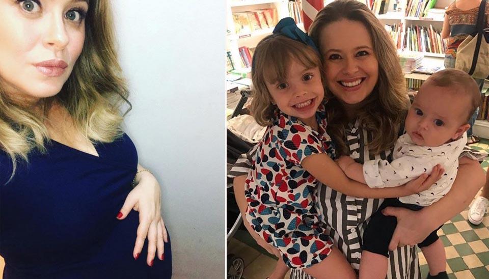 Também mamãe do ano, a ex-modelo Mariana Bridi deu à luz Valentim, seu segundo filho com o ator Rafael Cardoso, em maio deste ano. O bebê veio ao mundo às 22h28 com 3,4 quilos e 48 cm