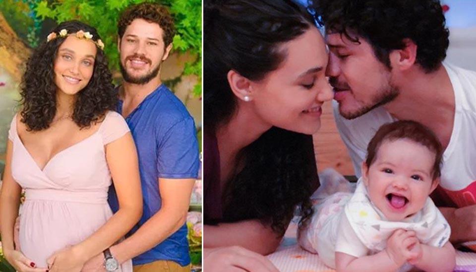 """Casada com José Loreto, Débora Nascimento deu à luz Bella em abril deste ano. Discreto, o casal anunciou o nascimento com um comunicado e disse que a menina """"nasceu saudável, feliz e cercada de muito amor"""". Fofos, né?"""