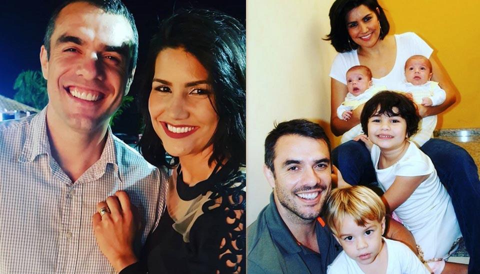Um dos casais mais antigos do reality é Daniel Saullo e Mariana Felício, que se conheceram no BBB 6!  Hoje são pais de Anitta, de 4 anos, Antônio de 2 anos, e os gêmeos José e João de 1 ano