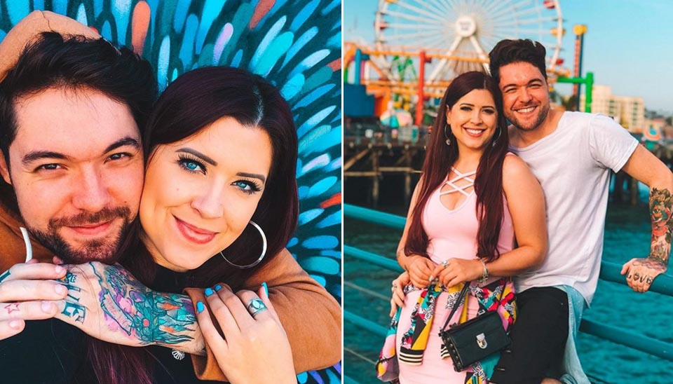 Casal formado no BBB 13, o gaúcho Nasser Rodrigues e a paranaense Andressa Ganacin já completam mais de 5 anos juntos! Eles são casados, moram em São Paulo e são youtubers