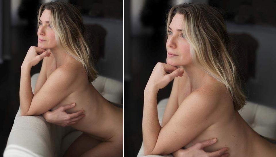 """Aos 44 anos, Letícia Spiller impressionou os fãs ao exibir o corpão. No post, ela usou a legenda #meunudeprocarnaval e os internautas classificaram a foto como uma """"surra de beleza""""."""
