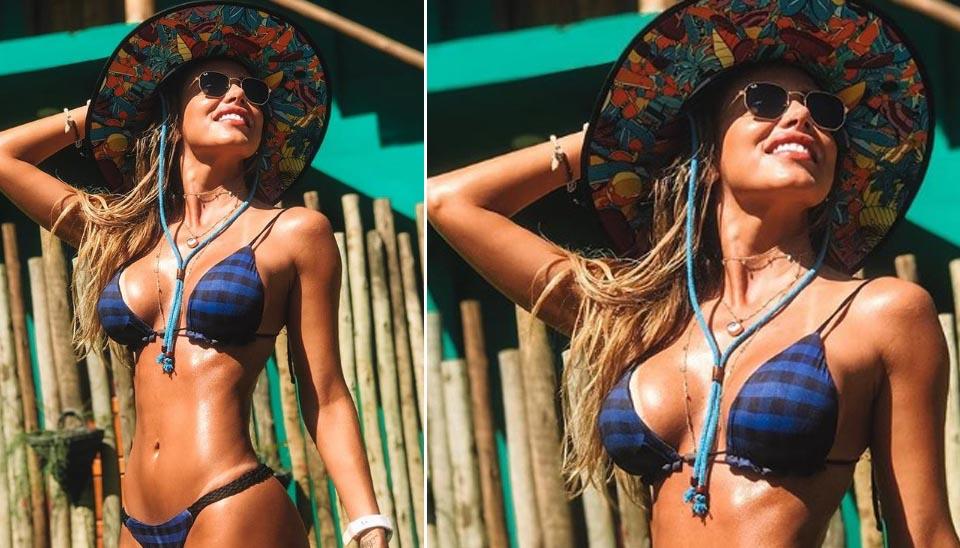 Neymar e Erika estiveram no mesmo grupo que passou a festa de réveillon em Barra Grande, na Península de Maraú, litoral baiano.