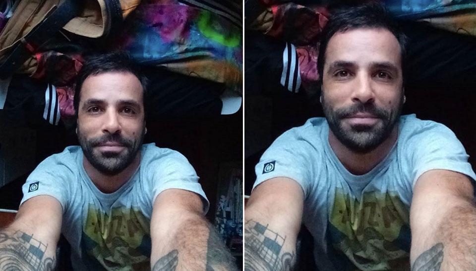 Vinicius Póvoa Fernandes, de 40 anos, é artista plástico e publicitário. O mineiro de Belo Horizonte tem uma filha DJ e diz que tem facilidade em se relacionar com as pessoas.