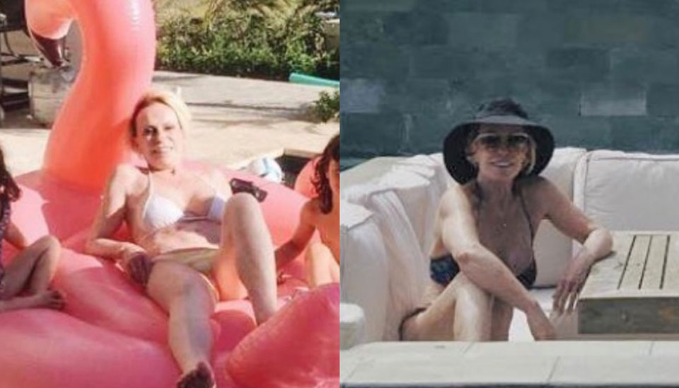 Nesta semana, Ana Maria Braga postou um clique raro na piscina. De biquíni branco, a apresentadora mostrou que está em boa forma, aos 69 anos.