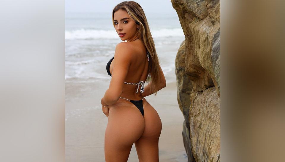 Bruna Rangel é natural de Vitória-ES e mora nos EUA. Ela possui uma marca de biquínis e suas curvas conquistaram milhões de seguidores