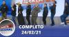Alerta Nacional (24/02/21) | Completo