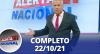 Alerta Nacional (22/10/21) | Completo