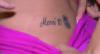 Miss Bumbum Suzy Cortez tatua nome de Messi e esposa do jogador a bloqueia