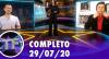 TV Fama (29/07/20) | Completo