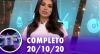 TV Fama (20/10/20) | Completo