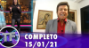 TV Fama (15/01/21) | Completo