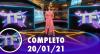 TV Fama (20/01/21) | Completo