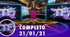 TV Fama (21/01/21) | Completo