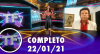 TV Fama (22/01/21) | Completo