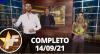 TV Fama (14/09/21) | Completo