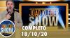 João Kléber Show (18/10/2020) Completo