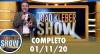 João Kléber Show (01/11/2020) Completo