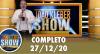 João Kléber Show (27/12/2020) Completo