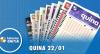 Resultado da Quina - Concurso nº 5177 - 22/01/2020