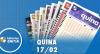 Resultado da Quina - Concurso nº 5199 - 17/02/2020