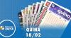 Resultado da Quina - Concurso nº  5200 - 18/02/2020