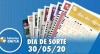 Resultado do Dia de Sorte - Concurso nº 310 - 30/05/2020