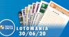 Resultado Lotomania - Concurso nº 2087 - 30/06/2020