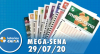 Resultado da Mega-Sena - Concurso nº 2284 - 29/07/2020