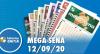Resultado da Mega-Sena - Concurso nº 2298 - 12/09/2020