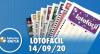 Resultado da Lotofácil - Concurso nº 2031 - 14/09/2020