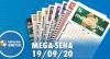 Resultado da Mega-Sena - Concurso nº 2301- 19/09/2020