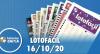 Resultado da Lotofácil - Concurso nº 2060 - 19/10/2020
