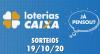Loterias Caixa: Lotofácil e Quina 19/10/2020